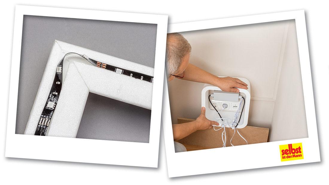Ziemlich Wie Installiert Man Leuchten In Einer Abgehängten Decke ...