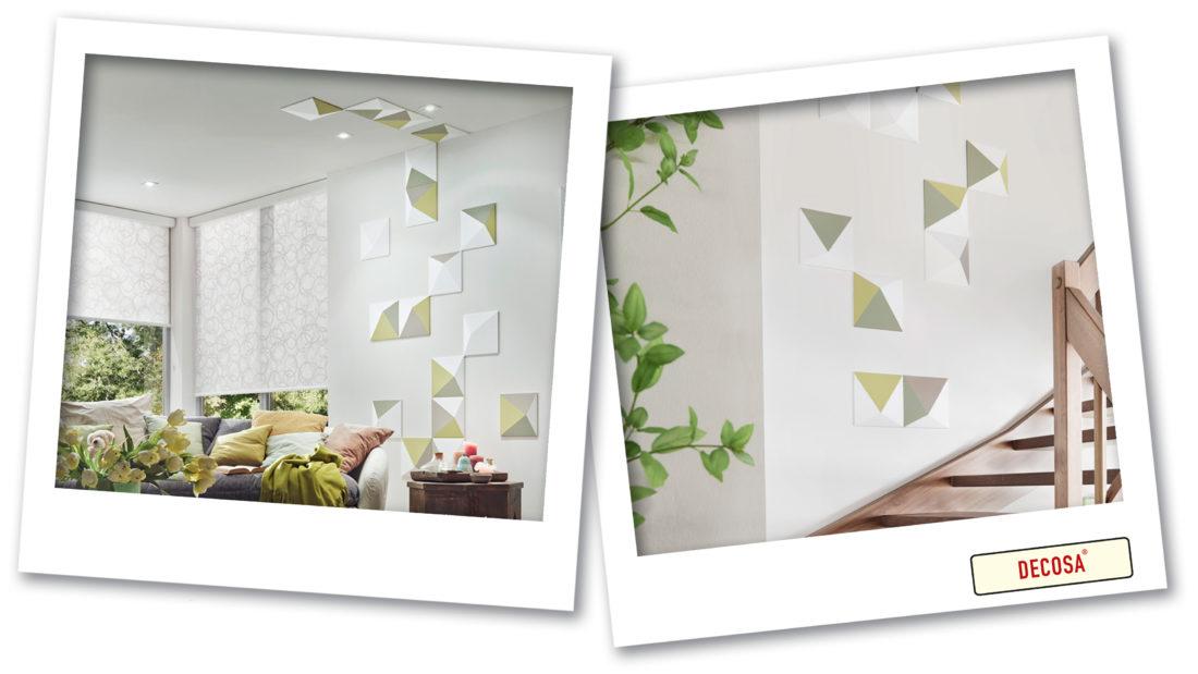 wandpaneele im Wohnzimmer und Treppenhaus