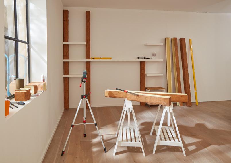 DIY Wandregal Vorher Schlafzimmer